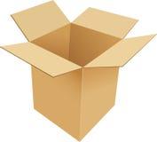 картон коробки иллюстрация штока