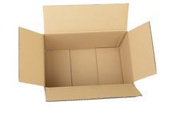 картон коробки Стоковые Изображения