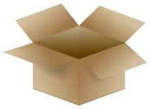 картон коробки иллюстрация вектора