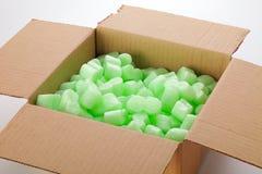 картон коробки Стоковое Изображение