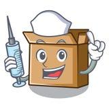 Картон медсестры в форме характера a бесплатная иллюстрация