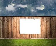 Картон на стене Стоковые Фото