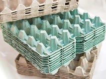 Картон упаковывая для яичек стоковое фото