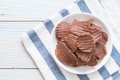 картофельные стружки с шоколадом стоковая фотография