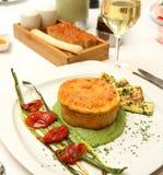 Картофельное пюре заполненное с сыром Стоковая Фотография
