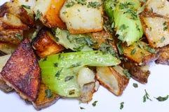 Картофельные оладьи Стоковое фото RF