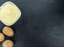 Картофельные пюре & x28; селективное focus& x29; Стоковое Изображение RF