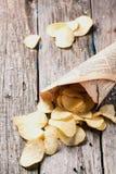 Картофельные стружки Стоковое Фото