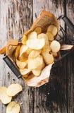 Картофельные стружки Стоковая Фотография