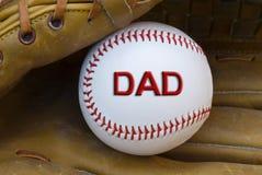 карточка бейсбола Стоковое Изображение RF