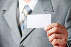 карточка бизнесмена Стоковые Фото