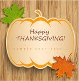 Карточка благодарения Стоковое фото RF