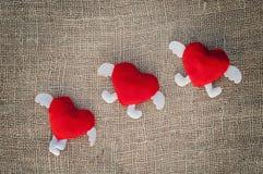 Карточка валентинки Стоковые Фотографии RF