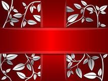 Карточка вектора декоративная Стоковое фото RF