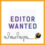 Карточка вектора если вы ищете редактор Стоковые Фото