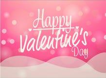 Карточка влюбленности валентинок Стоковые Изображения