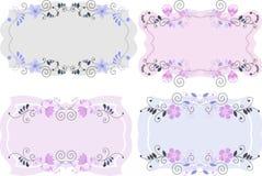 Карточка год сбора винограда с цветком бесплатная иллюстрация