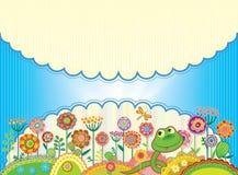 Карточка для поздравления или приглашения Стоковое Изображение