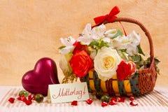 Карточка Дня матери Стоковые Фотографии RF