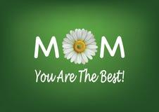 Карточка Дня матери Стоковая Фотография RF