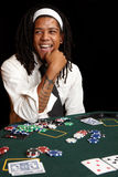 карточка играя в азартные игры Стоковые Фотографии RF