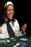 карточка играя в азартные игры Стоковая Фотография