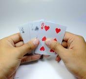 Карточка игры Стоковые Изображения