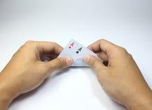 Карточка игры Стоковое Изображение
