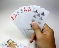 Карточка игры Стоковое фото RF