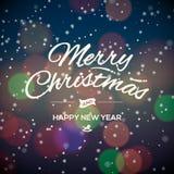 Карточка дизайна с Рождеством Христовым партии иллюстрация вектора