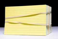 Карточка индекса Стоковые Фотографии RF
