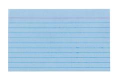 Карточка индекса 4 Стоковые Изображения RF