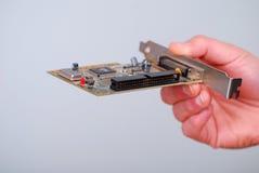Карточка компьютера Стоковые Изображения RF