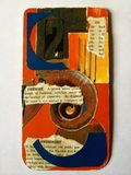 Карточка коллажа Стоковые Фотографии RF