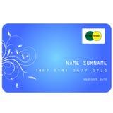 Карточка кредита в банке Стоковое фото RF