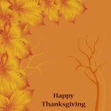 Карточка на thankgiving день иллюстрация вектора