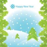 Карточка Новый Год вектора бесплатная иллюстрация