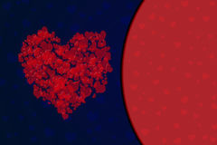 Карточка дня валентинки s или приглашения свадьбы Стоковые Фотографии RF