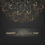 Карточка дня матери Стоковая Фотография