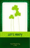 Карточка дня St. Patrick Стоковое Изображение RF