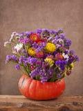 карточка осени легкая редактирует цветки праздник дорабатывает для того чтобы vector Стоковая Фотография RF