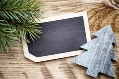 Карточка доски рождества Стоковая Фотография RF