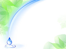 карточка относящая к окружающей среде Стоковые Фотографии RF