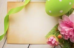 карточка пасха Стоковое Изображение