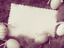 Карточка пасхи - фото запаса Стоковая Фотография