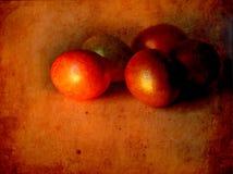 Карточка пасхи, пасхальные яйца, ретро предпосылка весны Стоковые Фото