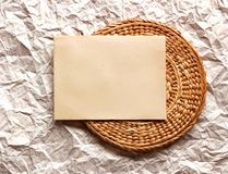 Карточка пасхи, пасхальные яйца, ретро предпосылка весны Стоковое Изображение