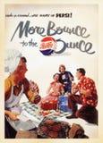 Карточка плаката США винтажная стоковая фотография