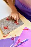 Карточка подарка DIY Стоковые Фото