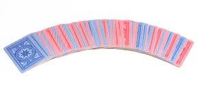 Карточка покера Стоковое Изображение